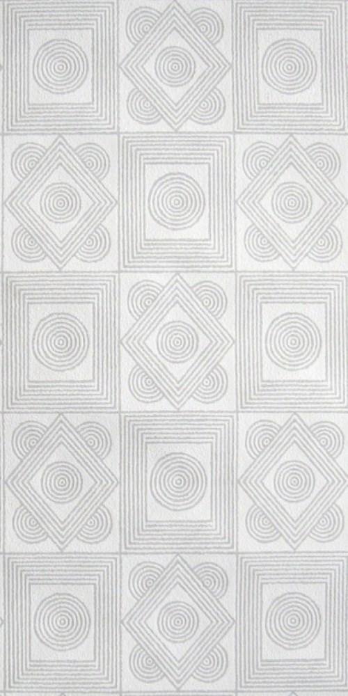 Bild 1 von Tapete Ornamental-Silber