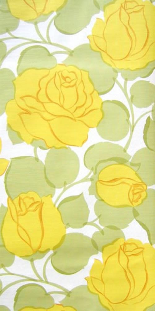 Bild 1 von Tapete Rose Gelb