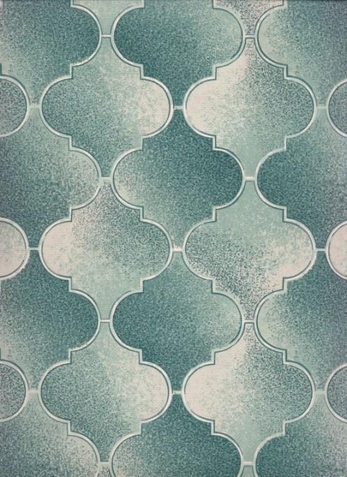 Bild 2 von Tapete Florenz Turquoise