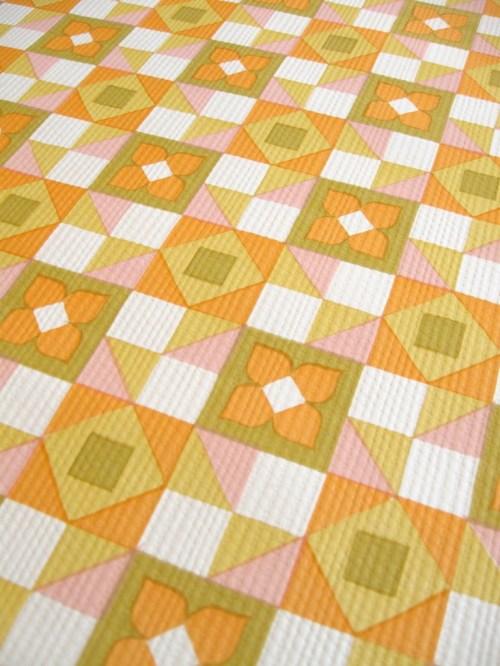Bild 3 von Tapete Mosaik hellrosa