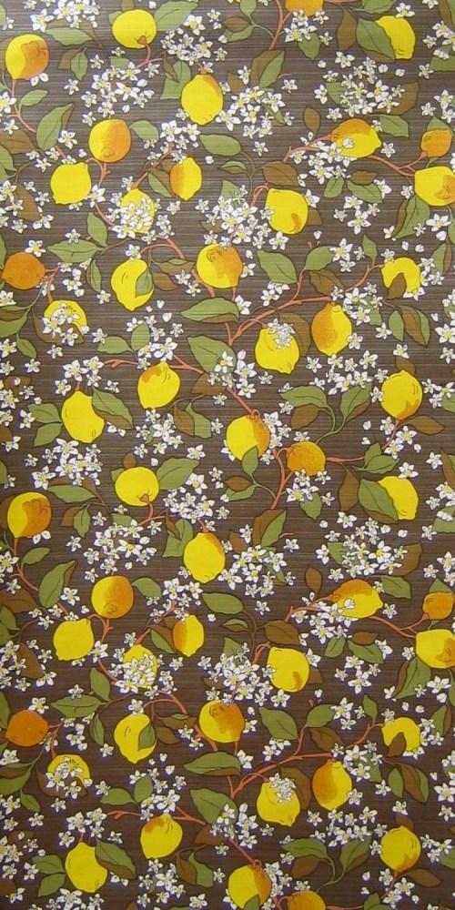 Bild 1 von Tapete Zitrone