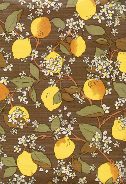 Bild 2 von Tapete Zitrone