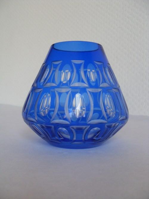 Bild 1 von 70er Kristallglasvase