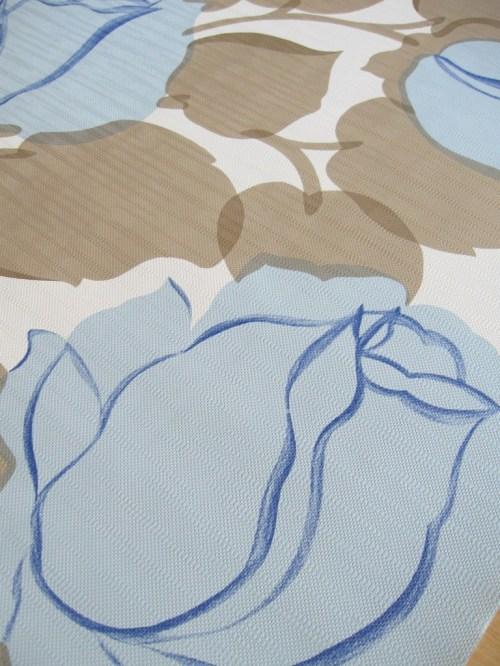 Bild 3 von Tapete Rose Blau