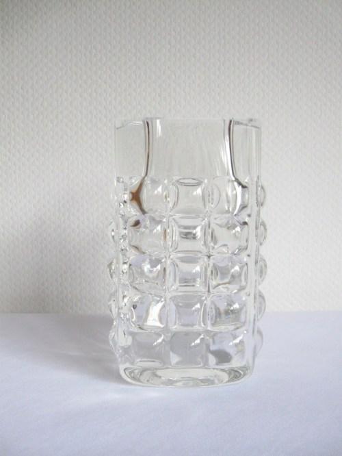 Bild 2 von 70er Glasvase massiv