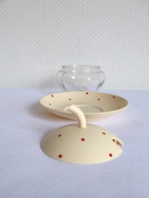 Bild 2 von 60er Marmeladentöpfchen