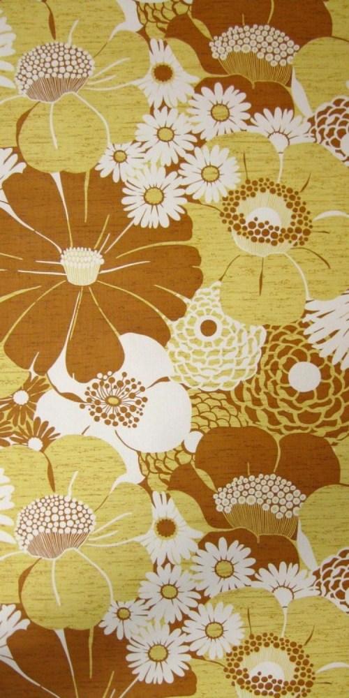 Bild 1 von Tapete Wall of Blossoms Yellow