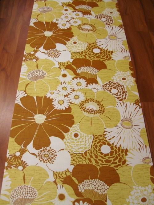 Bild 2 von Tapete Wall of Blossoms Yellow
