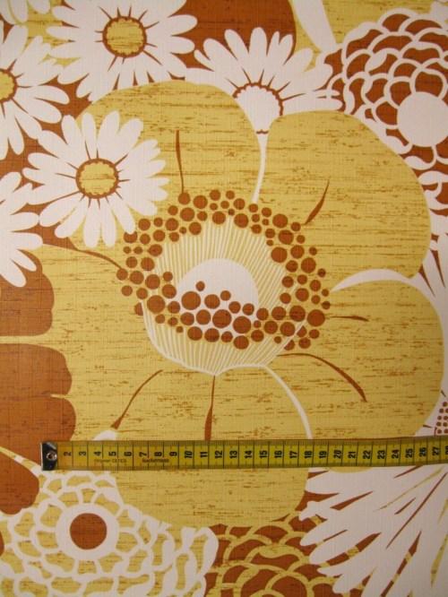 Bild 3 von Tapete Wall of Blossoms Yellow