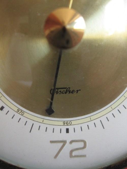 Bild 5 von 70er Barometer Fischer