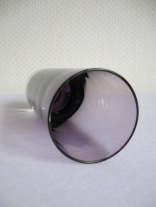 Bild 3 von 70er Glasvase Violett