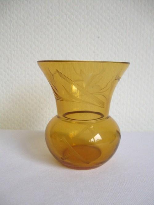 Bild 2 von 30er Glasvase Jugendstil