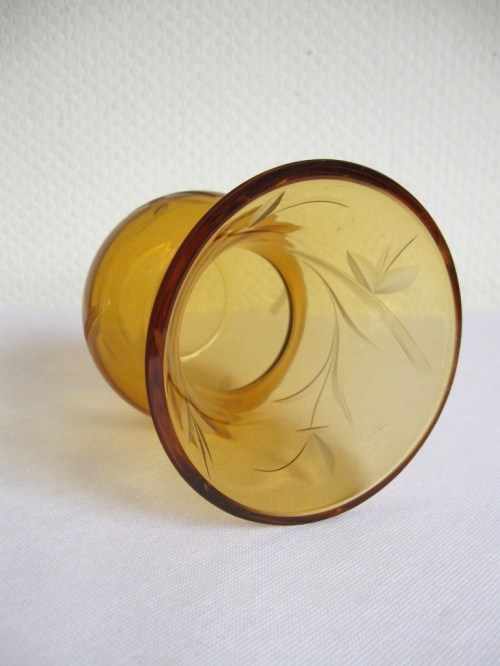 Bild 3 von 30er Glasvase Jugendstil
