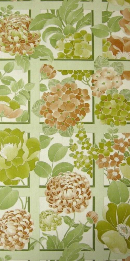 Bild 1 von Tapete Trellisa grün