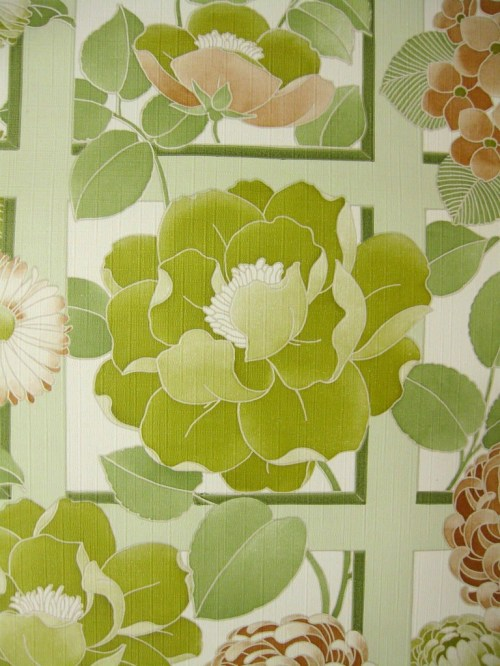 Bild 3 von Tapete Trellisa grün