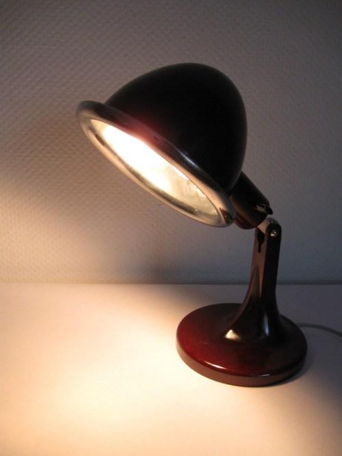 Bild 6 von Tischlampe Bakelit DDR