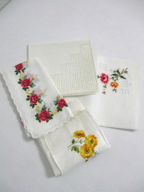 Bild 4 von 50er Rosen Taschentücher