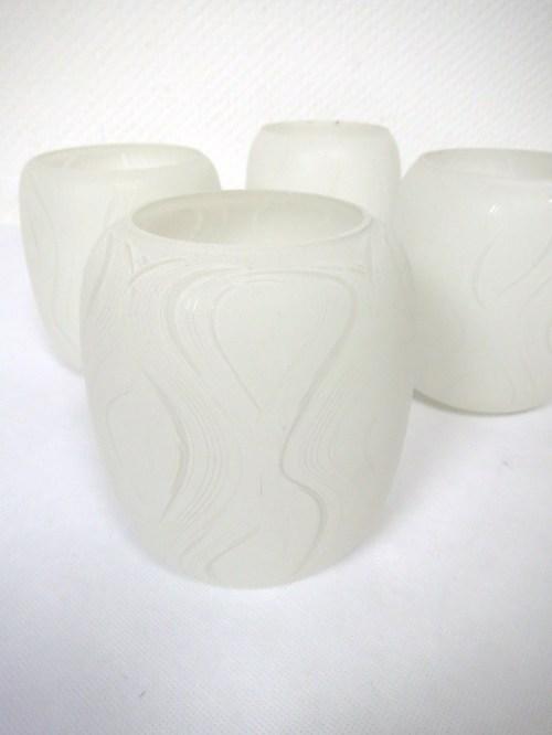 Bild 2 von 50er Lampenschirme Glas
