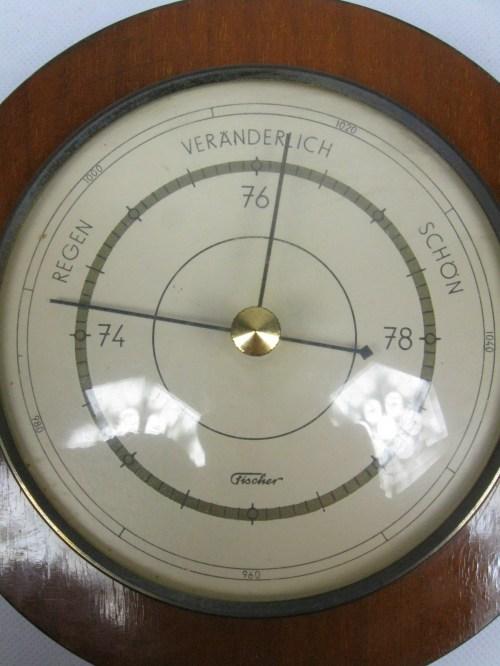 Bild 2 von 60er Barometer Fischer