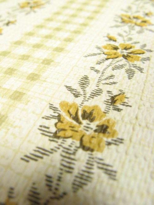 Bild 4 von Tapete Blume Karriert