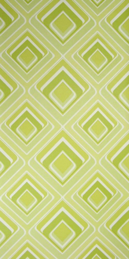 Bild 1 von Tapete Vinyl Grün