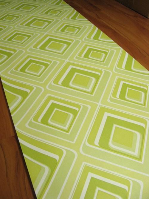 Bild 2 von Tapete Vinyl Grün