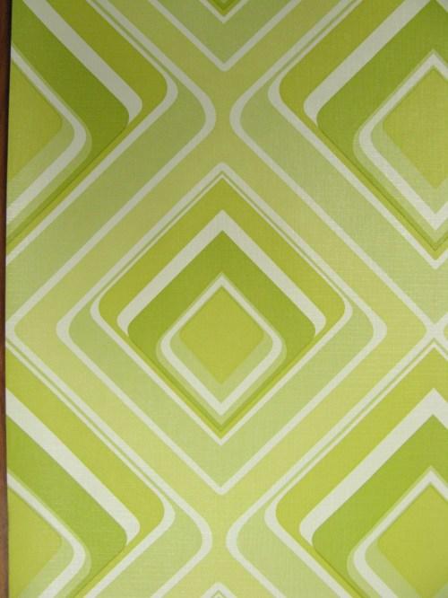 Bild 3 von Tapete Vinyl Grün