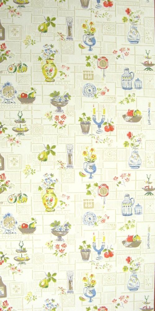 Bild 1 von Tapete Fifties Kitchen