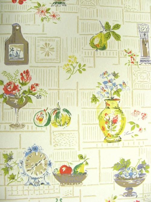 Bild 3 von Tapete Fifties Kitchen