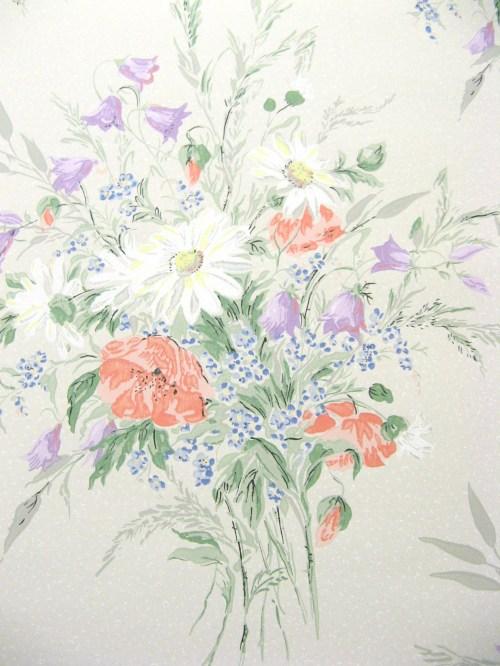 Bild 3 von Tapete Sommerblumen