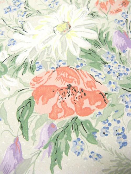 Bild 4 von Tapete Sommerblumen