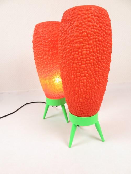 Bild 1 von 70er Bubble Lampe Orange