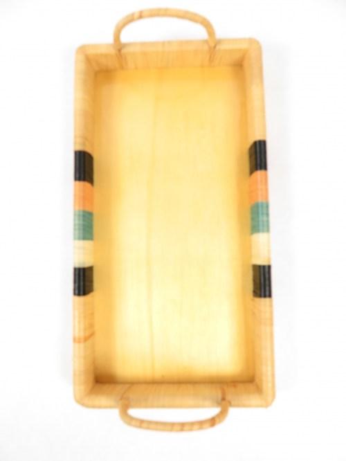 Bild 2 von 60er Bast Tablett