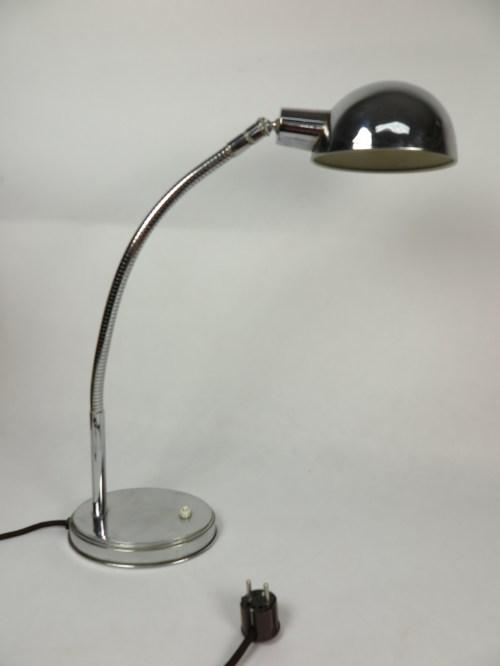 Bild 2 von Art-Deco Chrome Schreibtischlampe