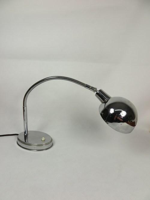 Bild 4 von Art-Deco Chrome Schreibtischlampe