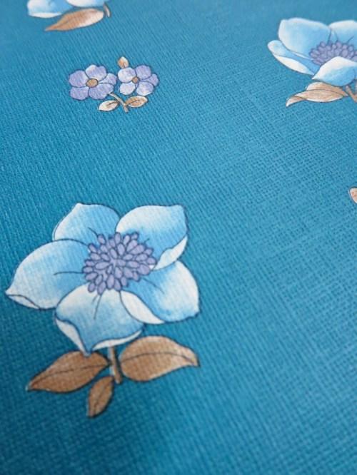 Bild 4 von Tapete Blaue Wiese