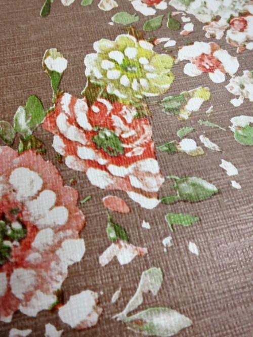 Bild 4 von Tapete Blumengirlande