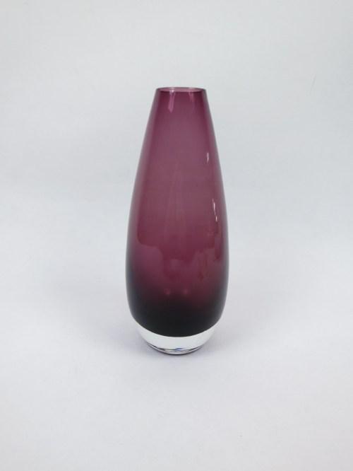 Bild 1 von 60er Glasvase Rauchglas