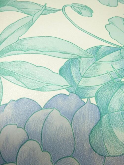Bild 4 von Tapete Dahlia Blue