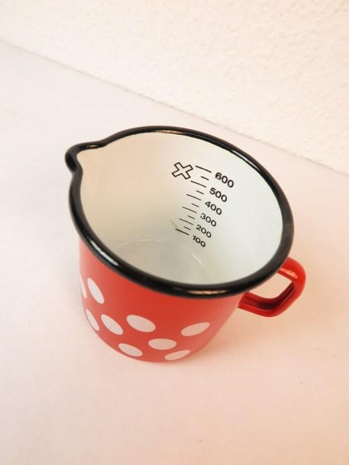 Bild 2 von 70er Milchtopf Emaille