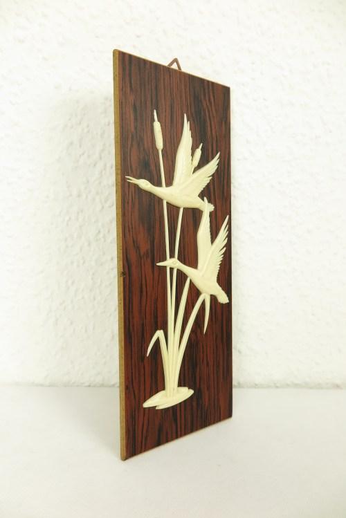 Bild 2 von 50er Holzbild Enten