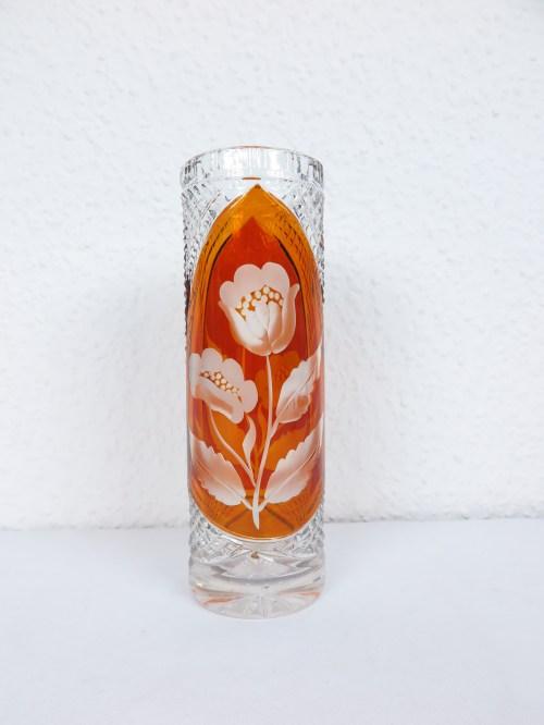 Bild 1 von 70er Kristallvase Julia