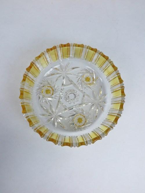 Bild 3 von 70er Kristallglasschale