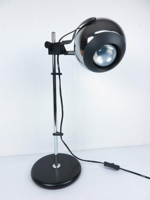 Bild 1 von 70er Chrom Schreibtischlampe DBGM