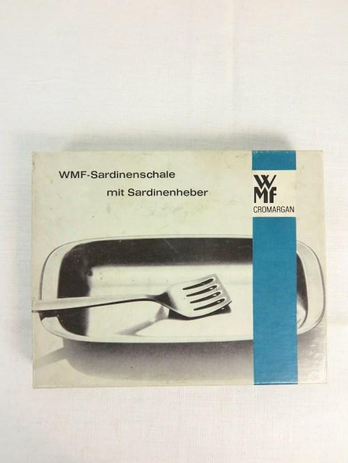 Bild 2 von 70er Sardinenschale mit Sardinenheber WMF