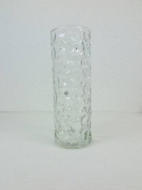 Bild 1 von 70er Glasvase Bubble Optik