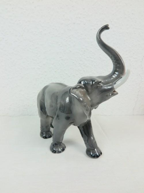 Bild 4 von 60er Porzellan Elefant