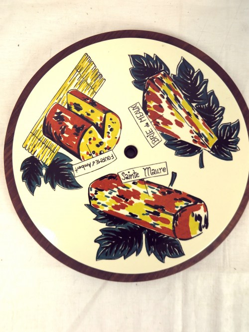 Bild 4 von 60er Käseplatte zum drehen