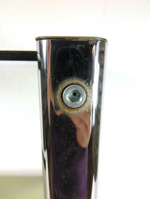 Bild 5 von 70er Glas Beistelltisch Rauchglas