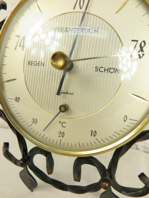 Bild 5 von 70er Barometer, Schmiedeeisen